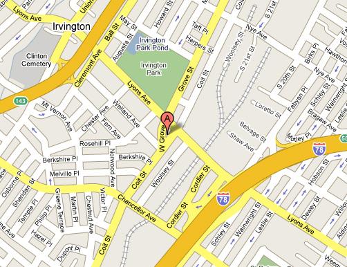 Angelos auto body location for Directions to garden state parkway south